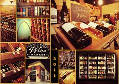 St. Louis Wine Market and Tasting Room in Chesterfield, Missouri!