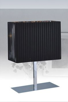 Stylish Design Furniture - Modrest TK1076 Modern Black and Stainless Steel Table Lamp, $153.00 (http://www.stylishdesignfurniture.com/products/modrest-tk1076-modern-black-and-stainless-steel-table-lamp.html/)
