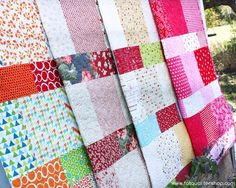 quick baby quilts - Google Search