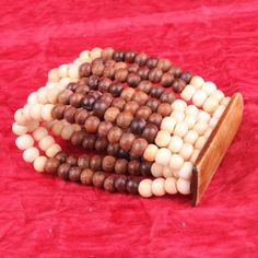 #ONLINE_SHOPPING @ Khoobsurati.com Get this Wooden Ivory Beaded #BANGLE http://khoobsurati.com/pdt/zovon/zovon-multi-strings-wooden-ivory-beaded-bangle
