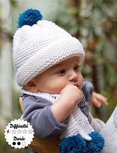 WoolKiss - Cadeau de naissance kit tricot et tricot bébé
