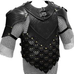 leather and mail armor - Google Search ----------------------------------------------------- this type of Armour appears to be a blend of chain-mail and scale mail.