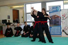 Bujinkan Budo (Ninjutsu) Training.  Roter Gurt