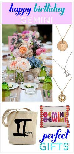 Happy Birthday Gemini! - Invitation Consultants Blog - Wedding and Party Inspiration