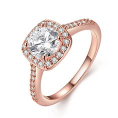 20 Rose Gold Engagement Rings That Will Leave You Speechless - Deer Pearl Flowers