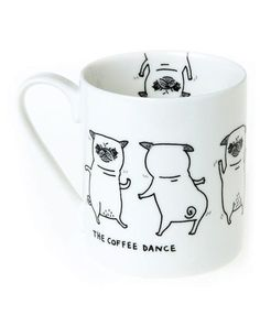 Pickle Parade Coffee Dance Mug