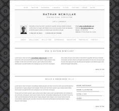 Html Resume Template Pinsyaochan On Cv Layouts I Like  Pinterest  WordPress