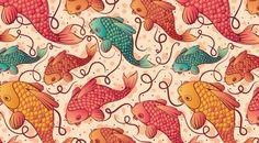 Fish Pattern by Julie Reinhart Balles