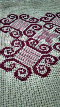 Cross Stitch Art, Cross Stitch Designs, Cross Stitch Patterns, Afghan Clothes, Border Pattern, Embroidery, Blanket, Crochet, Crafts