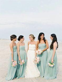 Lovely bridesmaid colour!