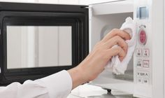 limpeza de microondas