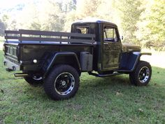 1951 Willys Truck - Photo submitted by Edwin Caudill. Farm Trucks, 4x4 Trucks, Cool Trucks, Chevy Trucks, Custom Trucks, Jeep Willys, Willys Wagon, Old Jeep, Jeep Tj