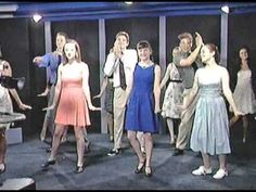 """""""Chef"""" Stephen Brunson helps to introduce the KCTU Dancers as they perform to """"Mashed Potato Time"""" during The Low-Budget Late Show. Choreography by Caroline . Shall We Dance, Lets Dance, Doris Day Show, Rock And Roll Dance, The Ronettes, Gordon Lightfoot, Brian Johnson, Kinds Of Dance, Dance Movement"""