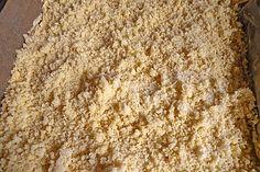 Grundrezept für Streusel (Rezept mit Bild) von Loeckchen87 | Chefkoch.de