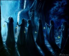 Leaving Rivendell by Gwillieth.deviantart.com on @deviantART