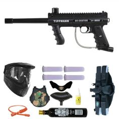 Tippmann 98 Custom Paintball Marker Gun 3Skull 4+1 9oz Protector Mega Set. Available at Ultimate Paintball!  http://www.ultimatepaintball.com/p-7790-tippmann-98-custom-paintball-marker-gun-3skull-41-9oz-protector-mega-set.aspx