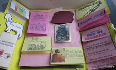 Mrs Darling's Homeschool Thoughts: Easter Lapbook