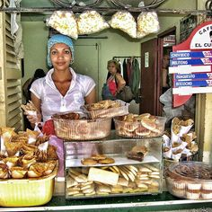 This is a Cuban store selling goodies.