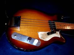 Premier Multi Vox Marvel Bass Guitar 1955 Extremely RARE Very Good Cond