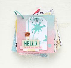 """Minialbum """"Hello Summer Vacation"""" mit der SWEET MÖMA Kollektion / Steffi Ried"""