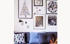 Algunas ideas para decorar nuestras paredes en Navidad
