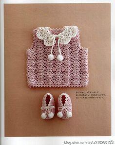 Одежда крючком для детей до 12 месяцев. Японский журнал. Обсуждение на LiveInternet - Российский Сервис Онлайн-Дневников