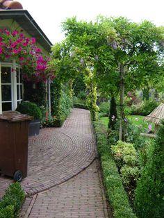 jardino-novoton-getrommeld / gebakken stenen tuin / gebakken waalformaat