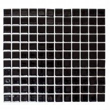 KERAMIKMOSAIK CLASSIC SVART BLANK 2,5X2,5X0,6CM