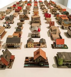 On view @newmuseum, 'The 387 Houses of Peter Fritz (1916-1992), Insurance Clerk