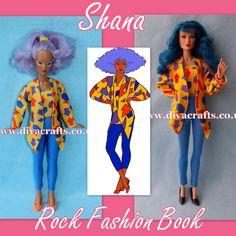 Cazjar Jem Fashion Showcase. Handmade Custom Jem Doll Clothes for Hasbro & Integrity.