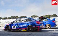 2013 sti nbr | Subaru WRX STI NBR Challenge 2014 Profile Next To Production Car Photo ...
