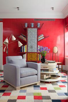 Casinha colorida: Belíssimo apartamento inspirado nas tendências da década de 80