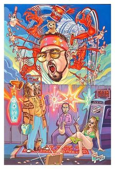 BROTHERTEDD.COM Rick And Morty Poster, The Big Lebowski, Lowbrow Art, Movie Poster Art, Pop Surrealism, Comic, Film Serie, Dark Fantasy Art, Art Drawings Sketches