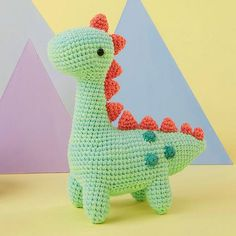 Mesmerizing Crochet an Amigurumi Rabbit Ideas. Lovely Crochet an Amigurumi Rabbit Ideas. Crochet Dinosaur Patterns, Crochet Toys Patterns, Amigurumi Patterns, Crochet Dolls, Crochet Yarn, Knitting Patterns, Crotchet, Crochet Gifts, Cute Crochet