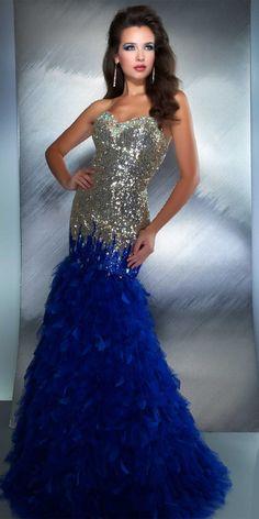 Mac Duggal Mermaid Dress (61181M)