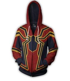 The Avengers 3 Superhero Hoodie Spiderman Venom Iron Man Captain America Thin Hoodies Iron Spider-man Casual Zipper Coat Outfit Hoodie Sweatshirts, Fleece Hoodie, Hoodie Jacket, Jacket Men, Spiderman Cosplay, Superhero Cosplay, Spiderman Hoodie, Avengers Hoodie, Spiderman Spiderman