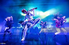 Lindsey Stirling performs during The Music Box Tour at Meadow Brook Music Theater on June 26, 2015 in Rochester, Michigan.