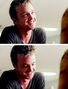 Jesse Pinkman at one of his absolutely most sexiest moments and the weird thing is he means to be...don't normally like that...what a male minx!