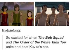 Legend of Korra: wish this actually happened lol