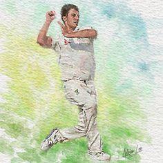 Pat Cummins - Ashes 2019 by realdealluk on DeviantArt Ashes Cricket, Stuart Broad, Ben Stokes, Cricket Wallpapers, David Warner, Steve Smith, Cricket Sport, Sports Art, Cricket