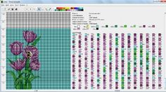 na mobil - Флора : формат dbb и jbb : Схемы для вязаных чехлов для телефонов и сумочек : Файлы : jbead