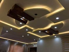 """If we think of the ceilings in our homes, so often the first thing that comes to mind is """"white, bland and boring."""" We make so much effort with the rest Drawing Room Ceiling Design, Plaster Ceiling Design, Gypsum Ceiling Design, Interior Ceiling Design, Drawing Room Interior, House Ceiling Design, Ceiling Design Living Room, Bedroom False Ceiling Design, Best False Ceiling Designs"""
