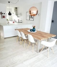 40 Stunning Contemporary Dining Room Design Ideas - Elevatedroom You are in the right place about fa Rustic Dining Room Sets, Dining Room Furniture Sets, Dinning Room Tables, Living Room And Kitchen Design, Dining Room Design, Dinner Room, Room Interior, Design Ideas, Design Design