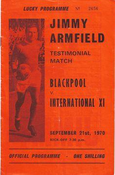 Jimmy Armfield Testimonial Programme