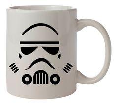stormtrooper face star wars Ceramic Coffee Mug 11oz Two Sides #MugDesign