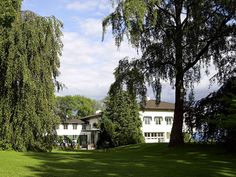 Skaugum Estate is the residence of the Crown Prince and Crown Princess. The farm lies in Asker municipality, southwest of Oslo, and has a history dating back to the Middle Ages.