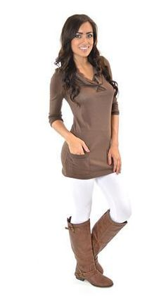 Must Have Fleece Leggings Fleece Leggings, Muffin Top, Fall Winter Outfits, Long Sweaters, Must Haves, Tunic Tops, Skinny, My Style, Freezing Cold