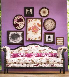 Home & Garden Inspirations Deco: From purple in my house