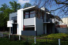 Casa Schroder  Arquitetura : G.T.Rietvelt  Foto : Frederico Zanelato
