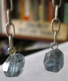Iolite Earrings by janislogsdongems on Etsy, $11.50